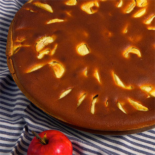 Rezept vom Lorettohof: Apfelkuchen
