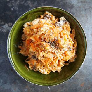 Rezept von Silvena Rowe: Karotten-Joghurt-Salat mit Kreuzkümmel