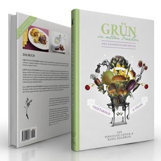 Kochbuch von Sebastian Copien: Grün in allen Farben