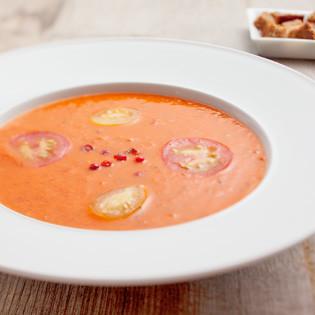 Rezept von Sebastian Copien: Zen-Tomatensuppe