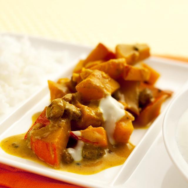 Rezept von Sebastian Copien: Indianstyle Kürbis-Rosinen-Curry
