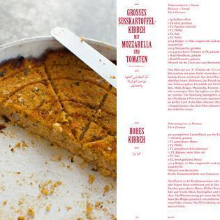 Rezept von Salma Hage: Süsskartoffelkibbeh