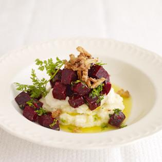 Rezept von Frank Rosin: Rote-Bete-Salat mit Selleriepüree
