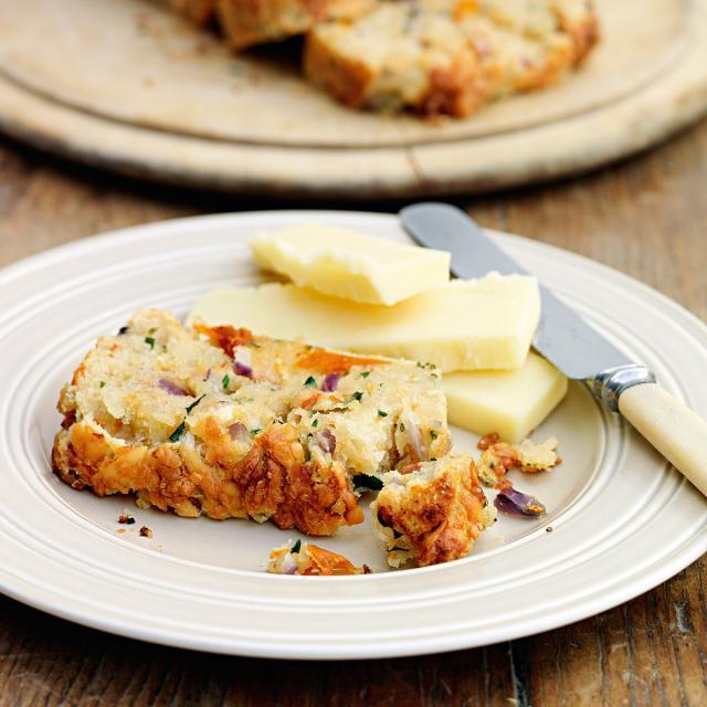 Rezept von Carolyn Robb: Schnelles Käse-Tomaten-Brot