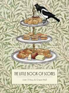 Backbuch von Liam D'Arcy + Grace Hall: The little Book of Scones
