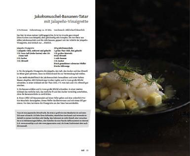 Rezept von Angelo Sosa: Jakobsmuscheln mit Bananen-Tartar