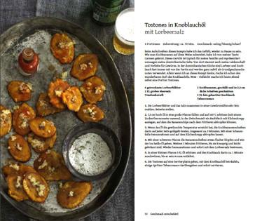 Rezept von Angelo Sosa: Tostones in Knoblauchöl mit Lorbeersalz