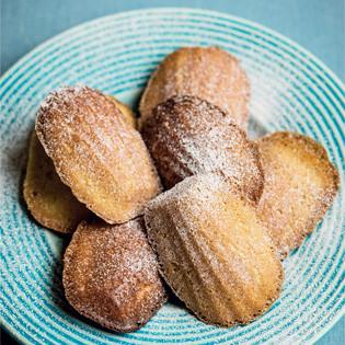 Rezept von Lindsey Bareham: Lemon and Honey Madeleines