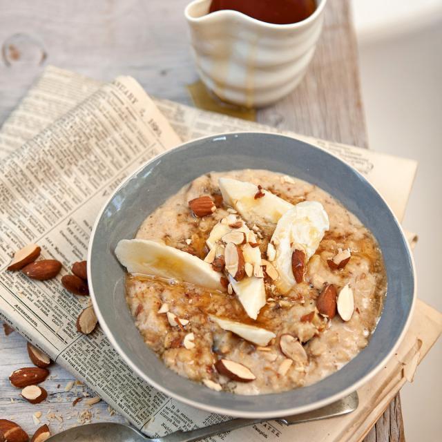 Rezept von Pete Evans: Bananen-Dattel-Porridge