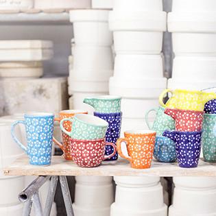 Schöne Keramik: Kolorlove aus Bunzlau