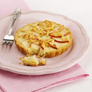Rezept von Stina Spiegelberg: Apfel-Mandeltarte (vegan)