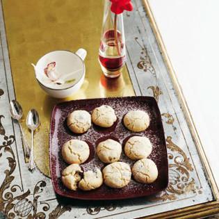 Rezept: Blaubeer-Mandel-Cookies