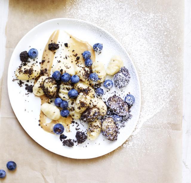 Rezept von Bernadette Wörndl: Süße Gnocchi mit Kartoffelmilchcreme