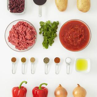 rezept von jane hornby chili con carne mit gebackenen. Black Bedroom Furniture Sets. Home Design Ideas