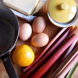 Aus Valentinas Küche: Rhabarber Curd
