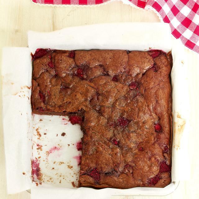Rezept von Annik Wecker: Himbeer-Brownies