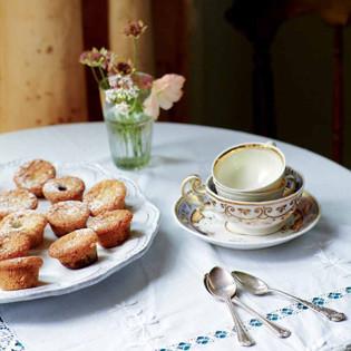 Rezept von Amber Rose: Mini-Muffins mit Heidelbeeren und Haselnüssen