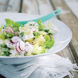 Rezept von Barbara Bonisolli: Kartoffelsalat mit Radieschen
