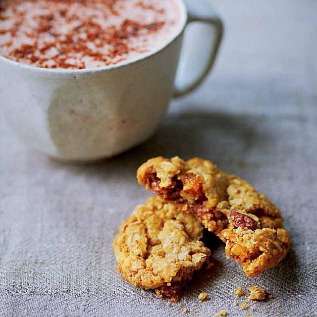 Rezept von Amber Rose: Haferkekse mit Orange, Ingwer & Kardamom