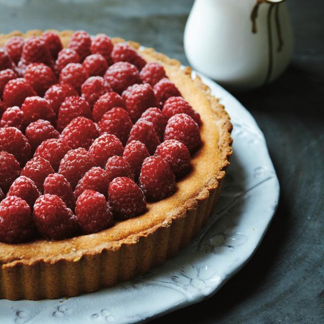 Rezept von Amber Rose: Himbeer-Mandel-Torte