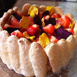 Aus Valentinas Küche: Erdbeer-Charlotte
