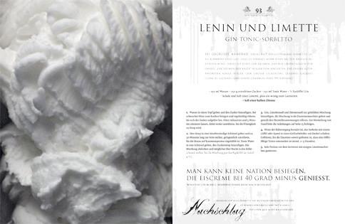 Rezept von Matt O'Connor: Lenin und Limette – Gin-Tonic-Sorbetto