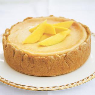 rezept von gaitri pagrach chandra mango cheesecake valentinas. Black Bedroom Furniture Sets. Home Design Ideas