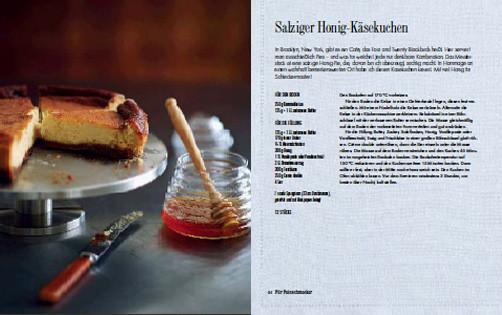 Rezept von Hannah Miles: Salziger Honig-Käsekuchen