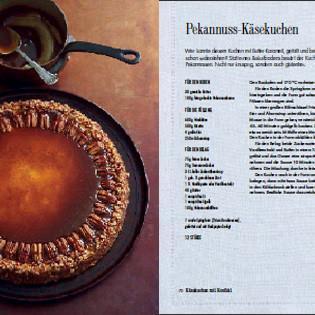 Rezept von Hannah Miles: Pekannuss-Käsekuchen