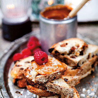 Rezept von Lisa Lemke: Dulce-de-leche-Brot