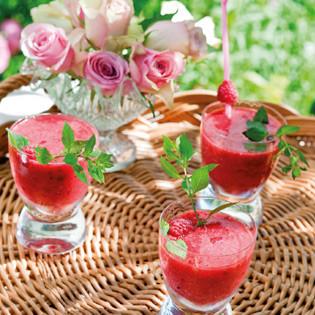 Rezept von Usch von der Winden: Erdbeer-Himbeer-Sorbet