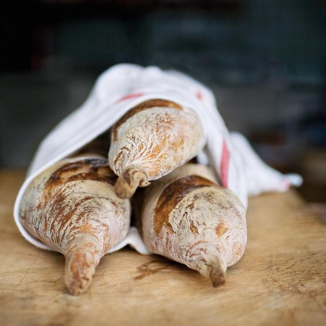 Rezept von Martin Johansson: Baguette aus Roggensauerteig