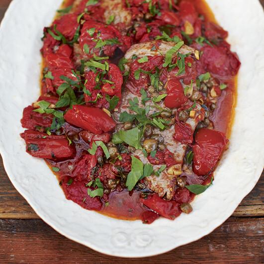 Rezept von Gennaro Contaldo: Steak in Tomatensauce