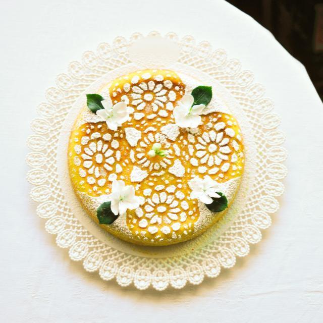 Rezept von Cettina Vicenzino: Migliaccio napoletano – Neapolitanischer Ricotta-Grieß-Kuchen