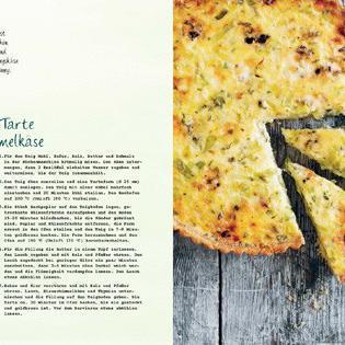 Rezept von Sarah Mayor: Lauch-Hafer-Tarte mit Blauschimmelkäse