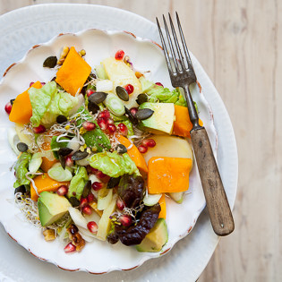 Rezept aus LEON: 3 Sisters Superfood Salad