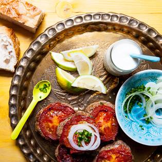 Rezept von Sally Butcher: Baluchi Chapli Kebabs