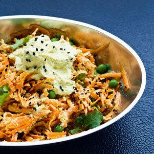 Rezept von Anat Fritz: Süßkartoffel-Curry mit Buchweizen
