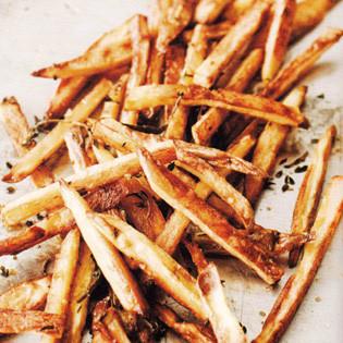Rezept von David Lebovitz: Pommes frites aus dem Ofen