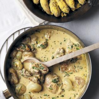 Rezept von Tina Nordström: Französischer Geflügeltopf mit Kartoffeln