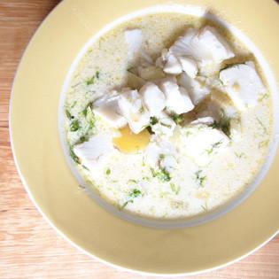 Gruß aus der Küche: Fischsuppe mit Fenchel und kleinen Kartoffeln - Valentinas-Kochbuch.de ...
