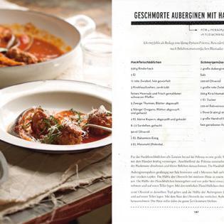 Rezept von Matt Wilkinson: Geschmorte Auberginen mit Hackbällchen