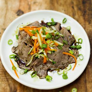 Rezept von Julia Skowronek: Tafelspitzsalat mit Kürbiskernöl