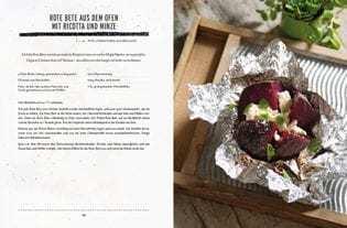 Rezept von Matt Wilkinson: Rote Bete aus dem Ofen mit Ricotta und Minze