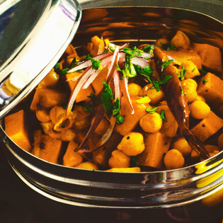 Rezept von Carolyn Caldicott: Chana Masala – Kichererbsen-Curry