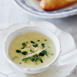 Rezept von Christina Hubbeling: Kartoffelsuppe mit Brillat-Savarin