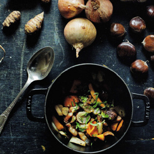 Rezept von Mimi Thorisson: Winter Vegetable Cocotte