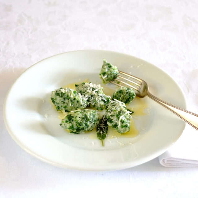 Rezept von Claudio Del Principe: Malfatti (Ricotta-Spinat-Klößchen)