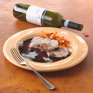 Rezept von Michael Langoth: Maiale ubriaco – Besoffenes Schwein