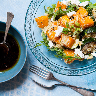 rezept von ghillie james couscous amaranth salat mit rosmarink rbis und zucchini valentinas. Black Bedroom Furniture Sets. Home Design Ideas